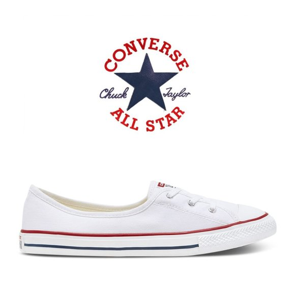 Chuck Taylor All Star Ballet Slip-Ons - Size 8